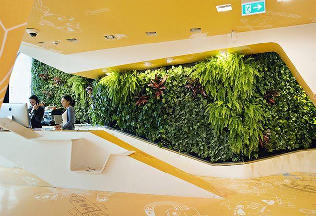 这些植物墙造景方式,都挺好!